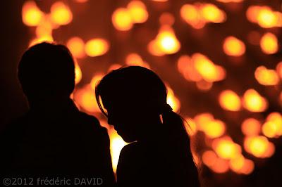 spectacle feu noctambules cie carabosse silhouettes Chamarande Essonne