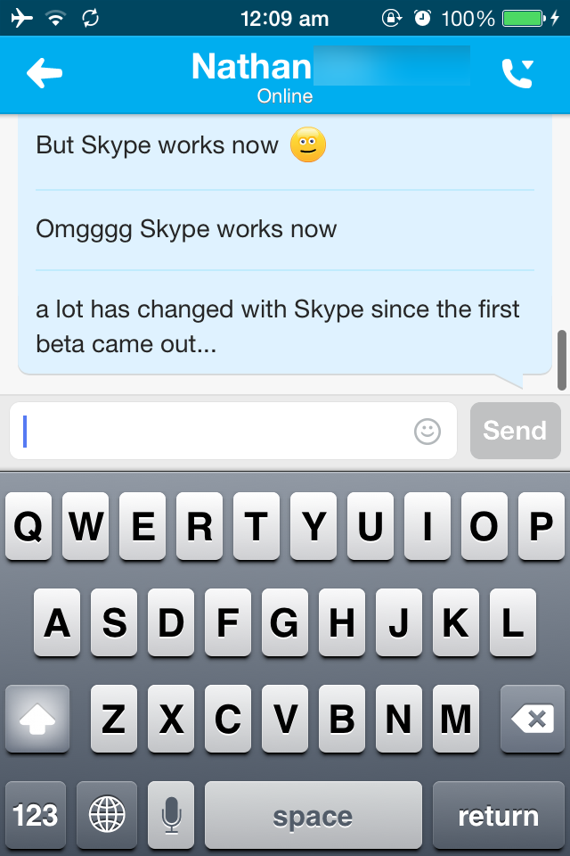 how to work in skype