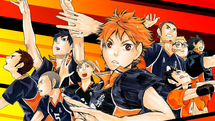 Karasuno High Haikyuu Anime 12