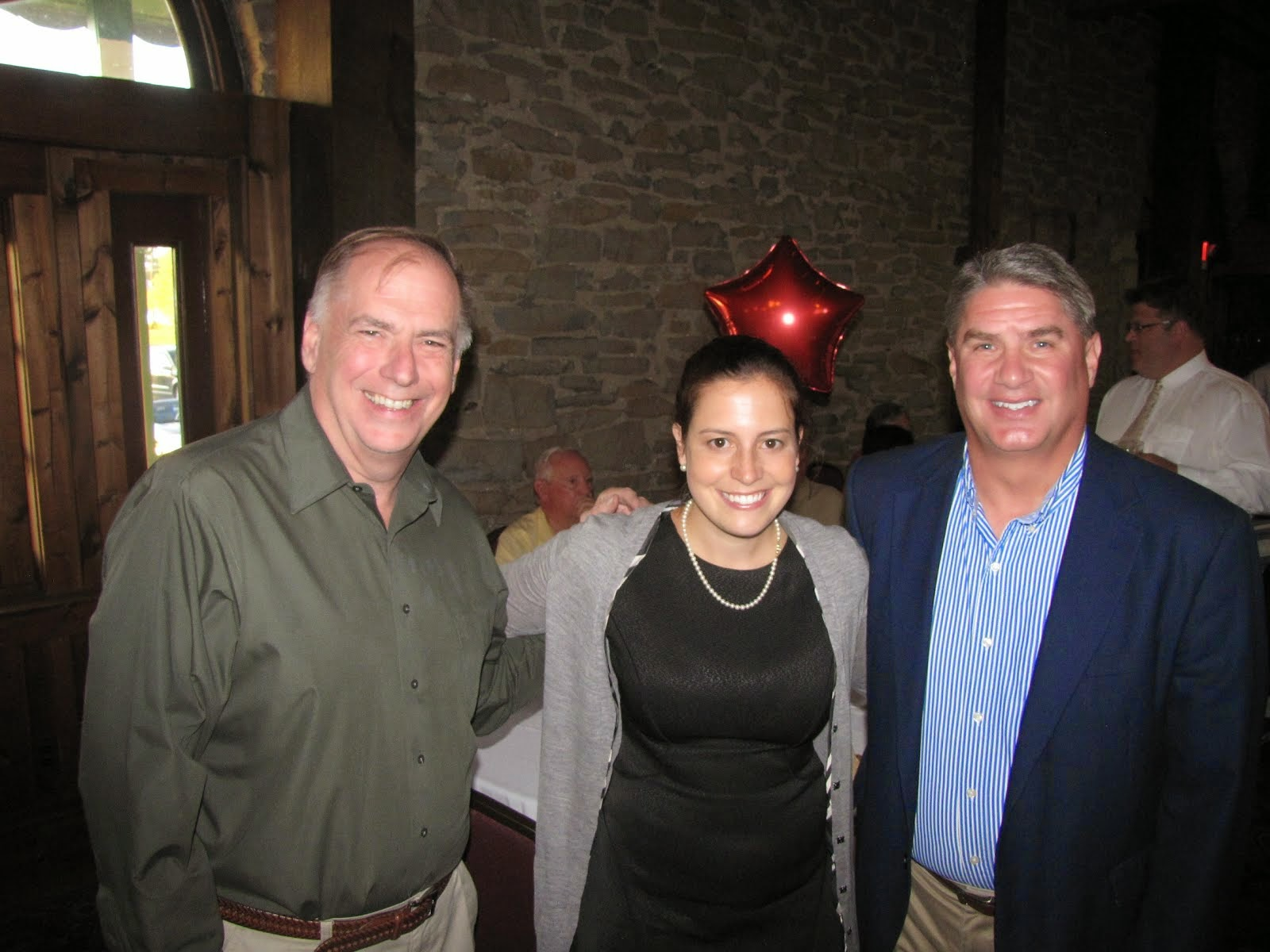 Elise Stefanik With Her Two Favorite Mayors