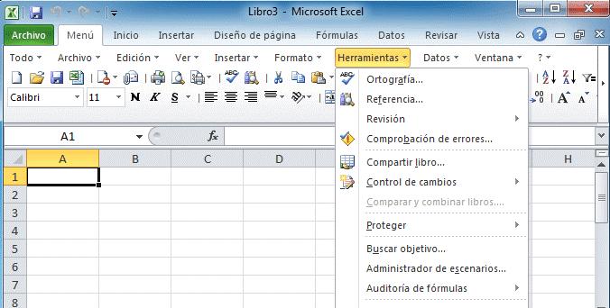 tics y administracion: 3.2.1 Barra de herramientas de las hojas de ...