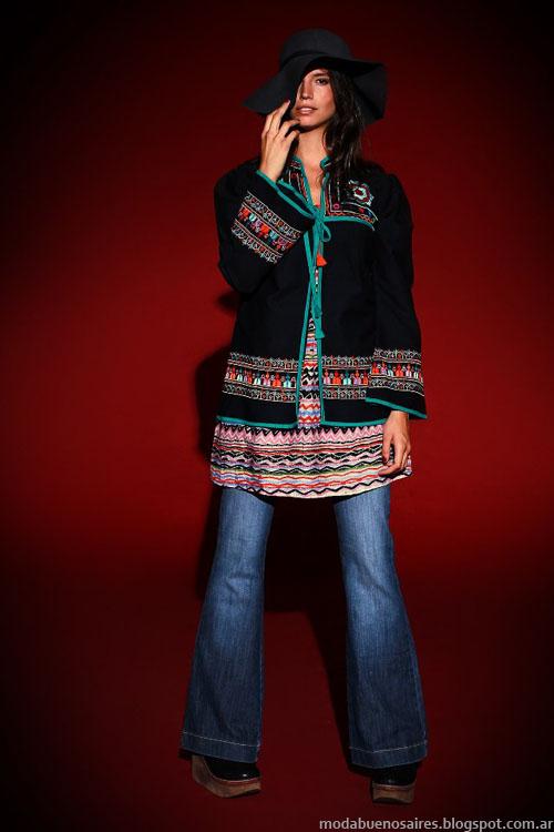 Tunicas moda invierno 2013 Sophya