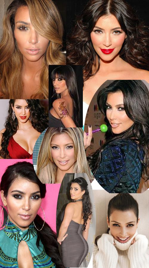 Kim Kardashian Hair Extensions Does Kim Kardashian Wear Hair