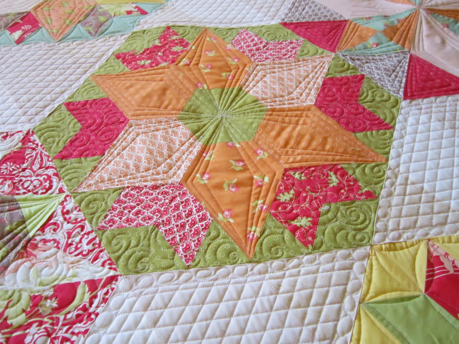quilting is my bliss: park bench