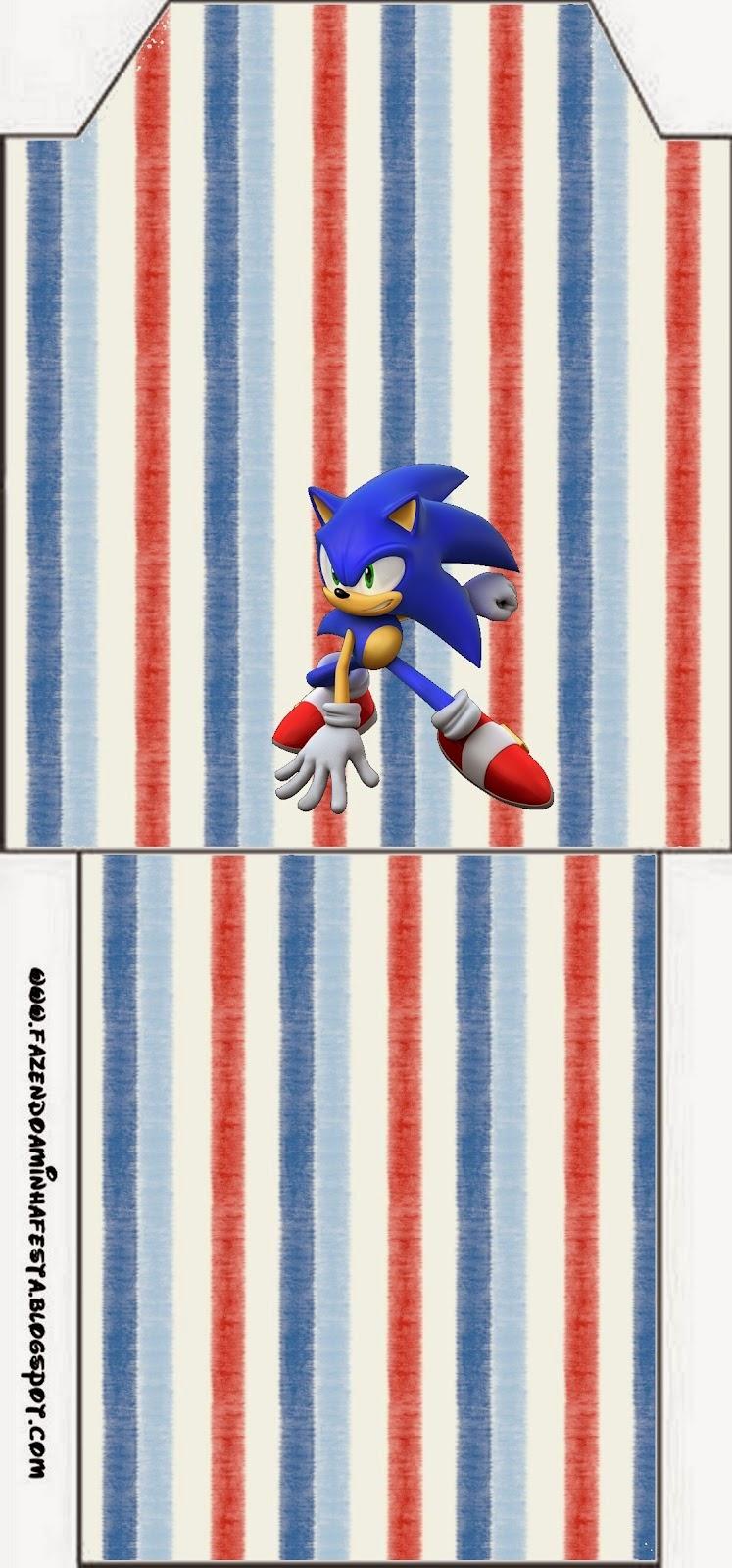 Etiqueta para el Té de Sonic.