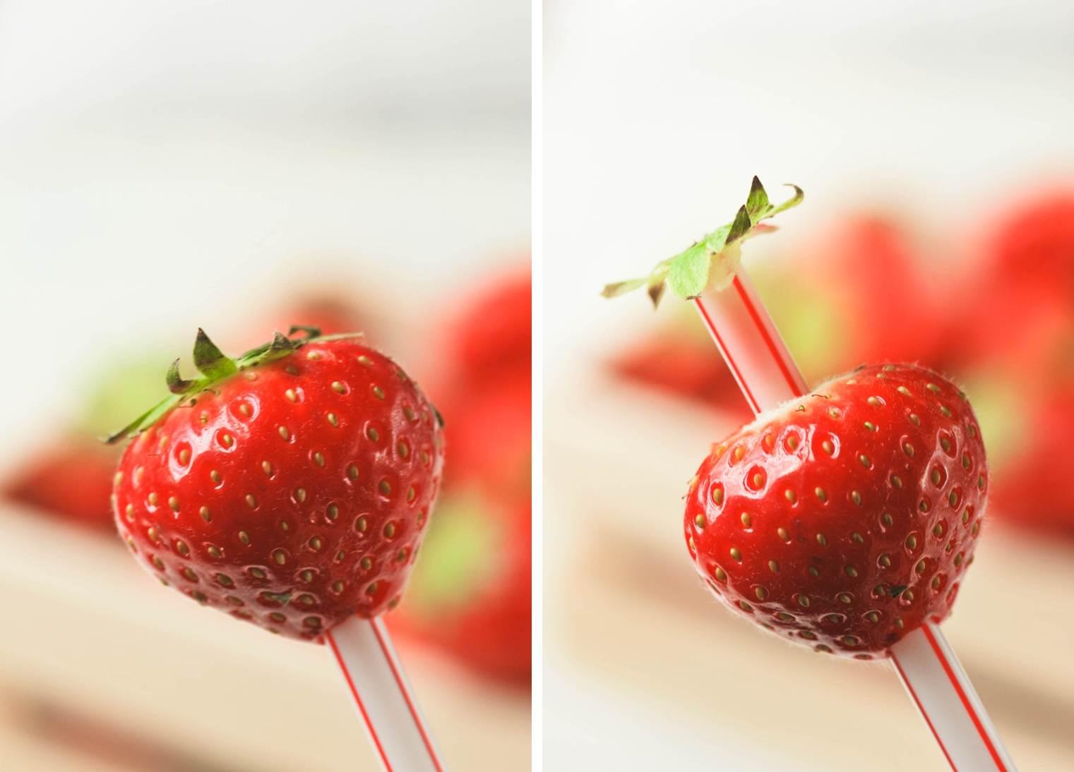 Limpiar fresas