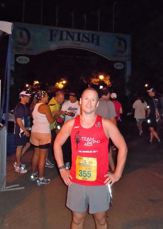 Disneyland Half Marathon 5am