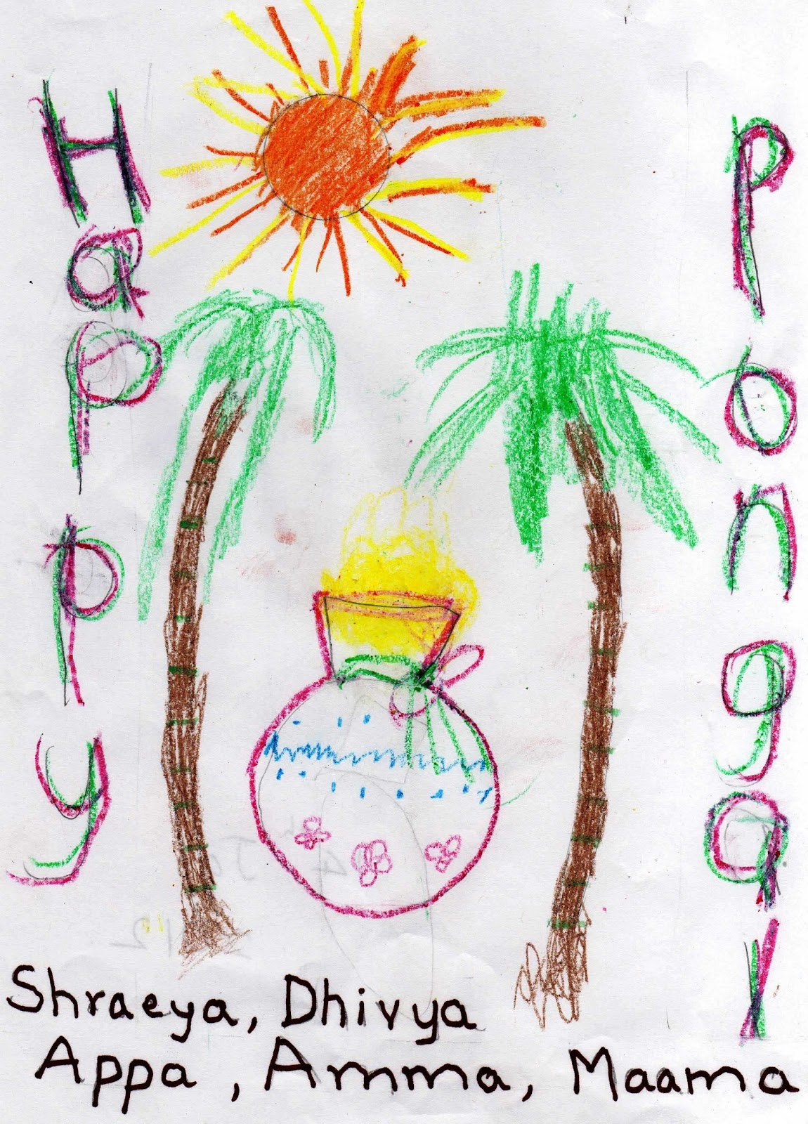 Creative Ideas for Sanktanti / Pongal ~ Putti\'s World -kids-activities
