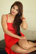 Ashwini glamorous photos in red-thumbnail-17