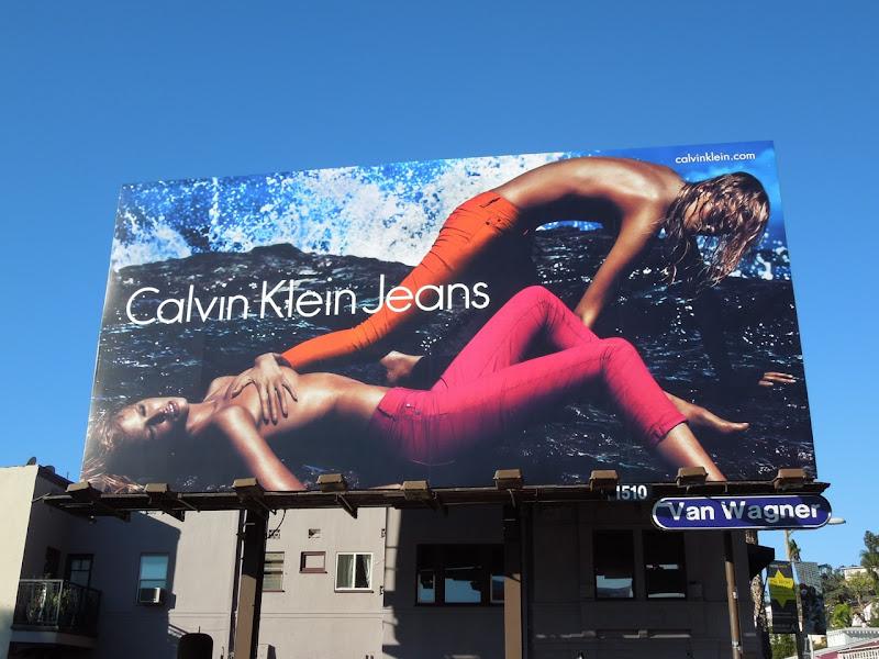 Calvin Klein Jeans 2012 billboard