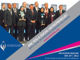 جائزة الملك عبد الله الثاني للإنجاز والإبداع الشبابي