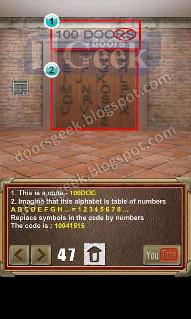 100 doors of revenge level 47 doors geek for 100 door of revenge