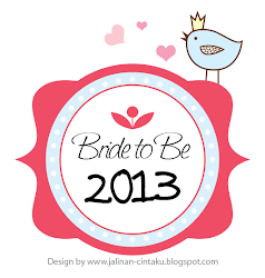BRIDE TO BE 2013 :)