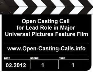 Universal Pictures Tom Cruise Talent Search