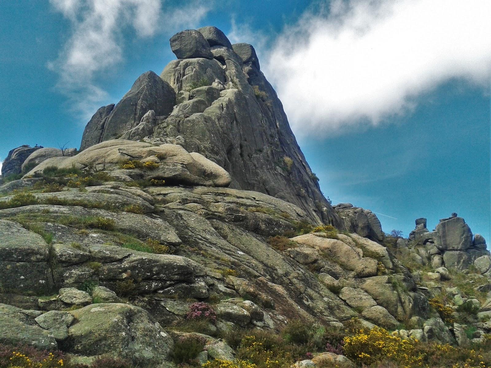 Desde Junceda ao cume de Pé de Cabril...