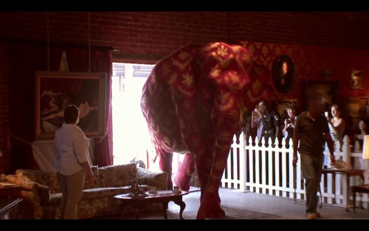 Kaleidoscope: Exit Through the Gift Shop: The Elephant in the Room