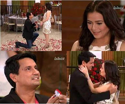 Marco-Emily Wedding proposal scene in Walang Hanggan Wins TV Ratings, Trends on Twitter