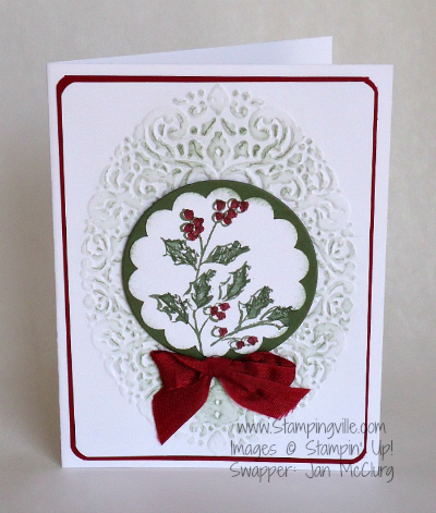 Watercolor Winter Stamp Set by Stampin' Up!