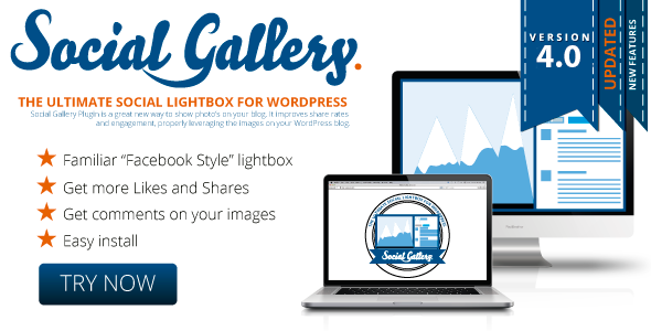 Codecanyon Social Gallery v4.1.1 – WordPress Photo Viewer plugin