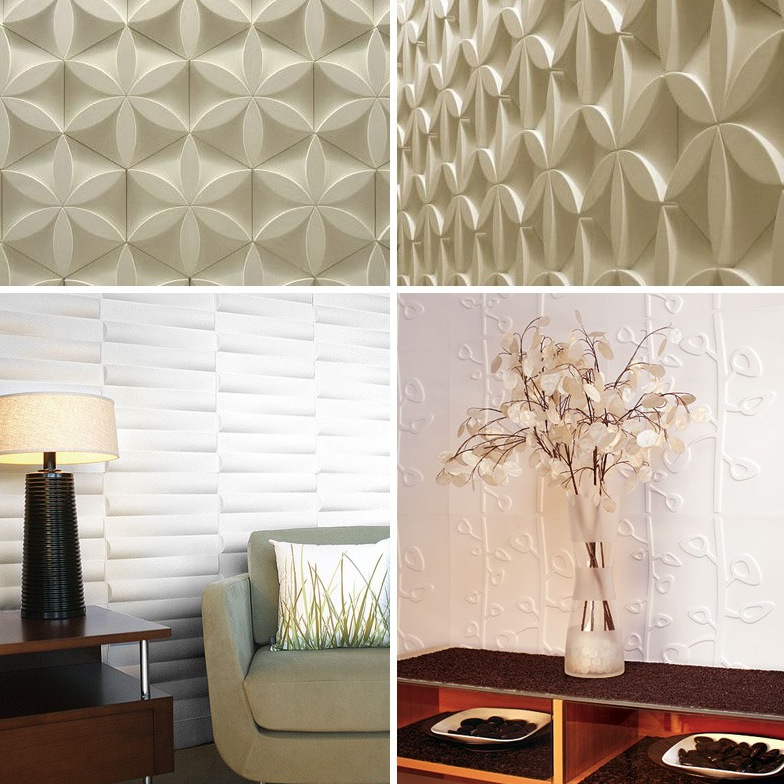 Intra design 2013 home decor trends for 3d outdoor wall tiles