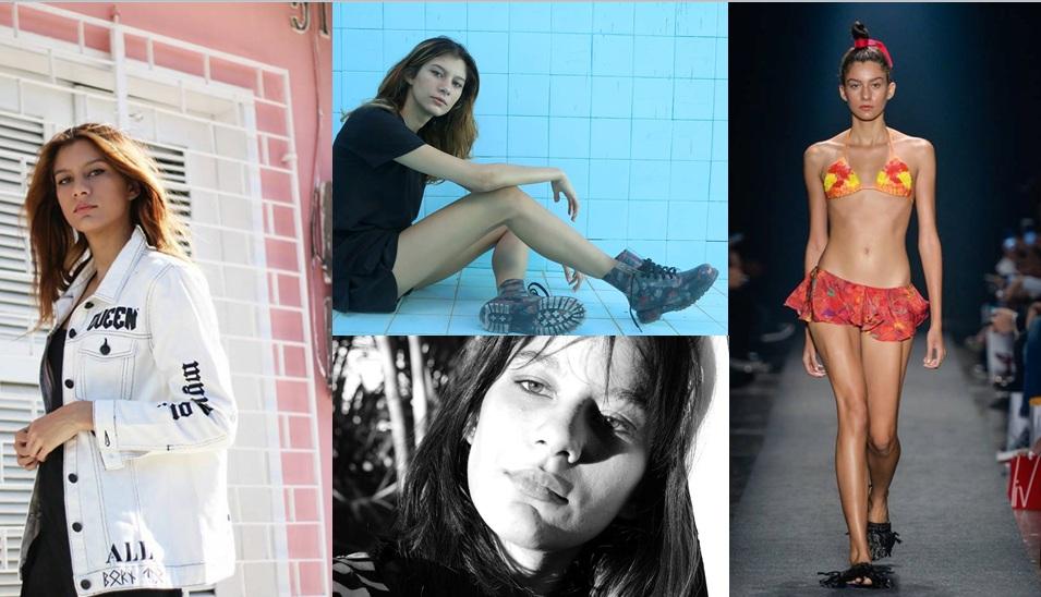 Modelo cearense que teve a coragem de fazer sérias denúncias sobre o lado obscuro no mundo da moda