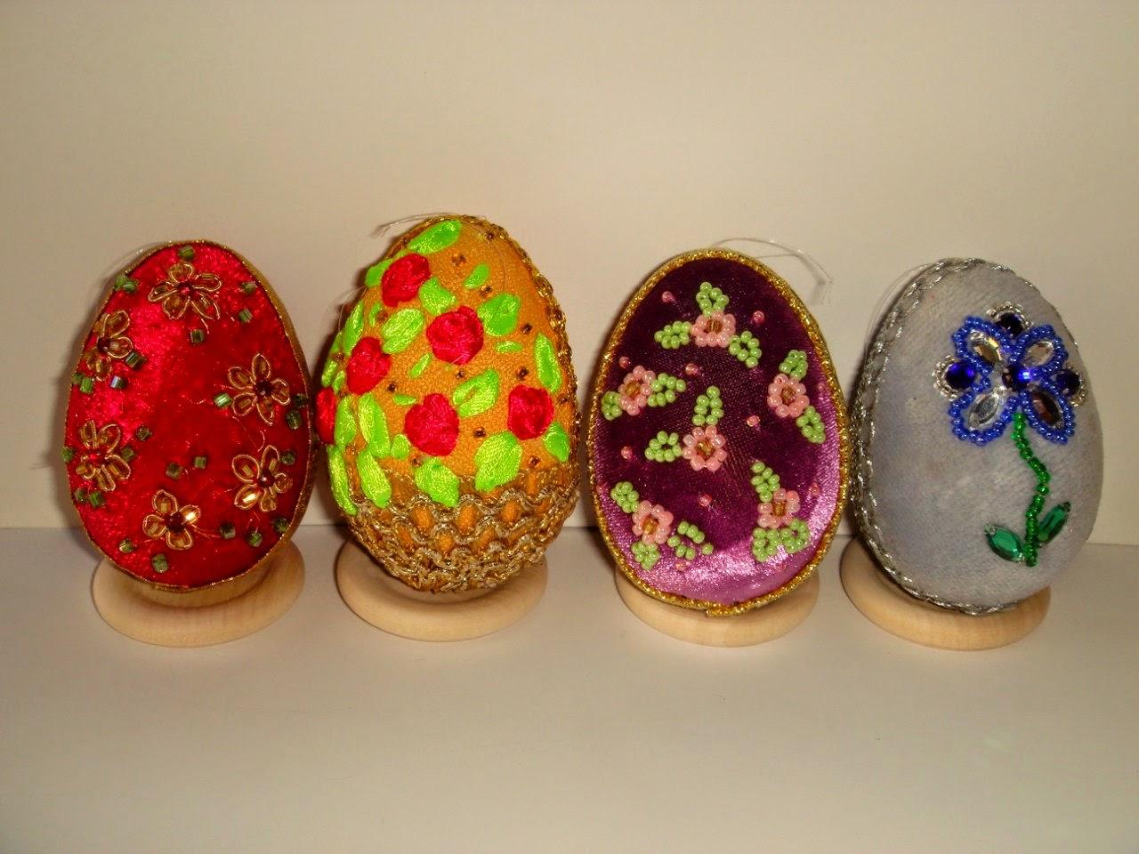 Пасхальные яйца вышитые 140