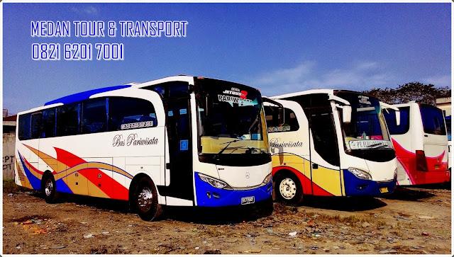 harga sewa bas wisata di medan