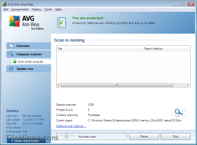 AVG AntiVirus Free Edition 2013.0.2677 (32-bit)