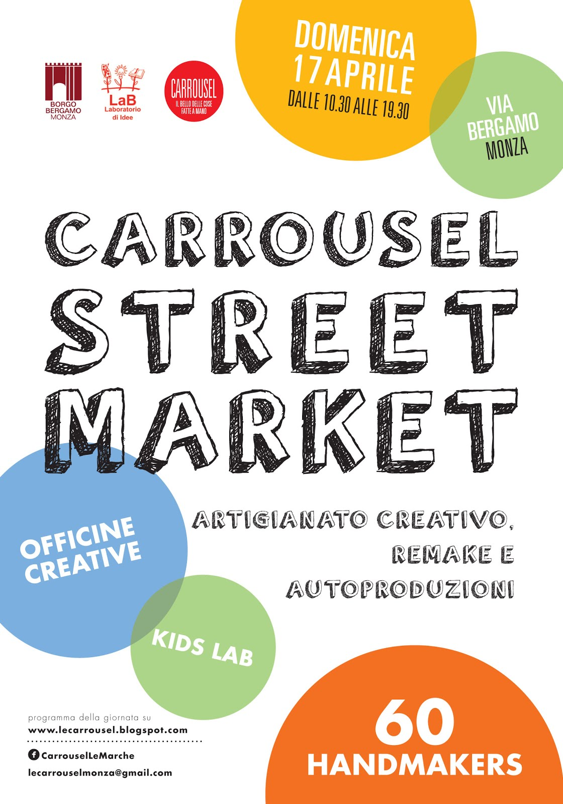 Carrousel StreetMarket 17 aprile