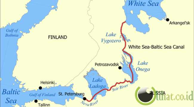 Terusan Laut Putih-Baltik