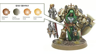 How to paint Deathwing Knights? Dark Angels Warhammer 40k Airbrush ...