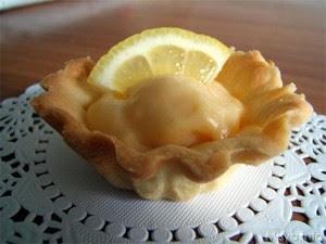 Cestini di Pasta Frolla con Crema al Limone