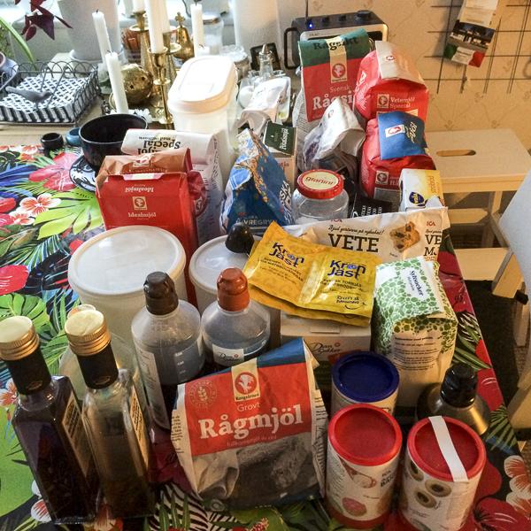 specerier, lådinnehåll