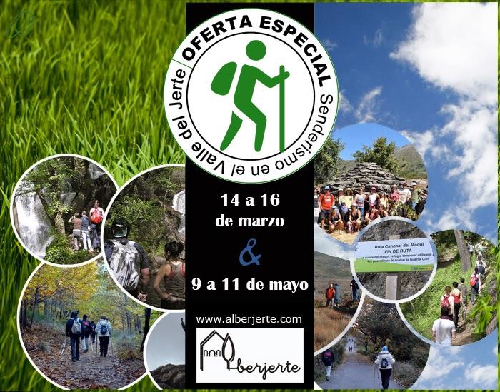 OFERTA ESPECIAL: Senderismo en el Valle del Jerte
