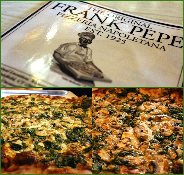 Frank Pepe Cheese And Spinach