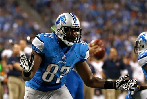 Detroit Lions Brandon Pettigrew top free agent tight end now available