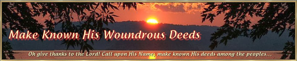 Make Known His Wondrous Deeds