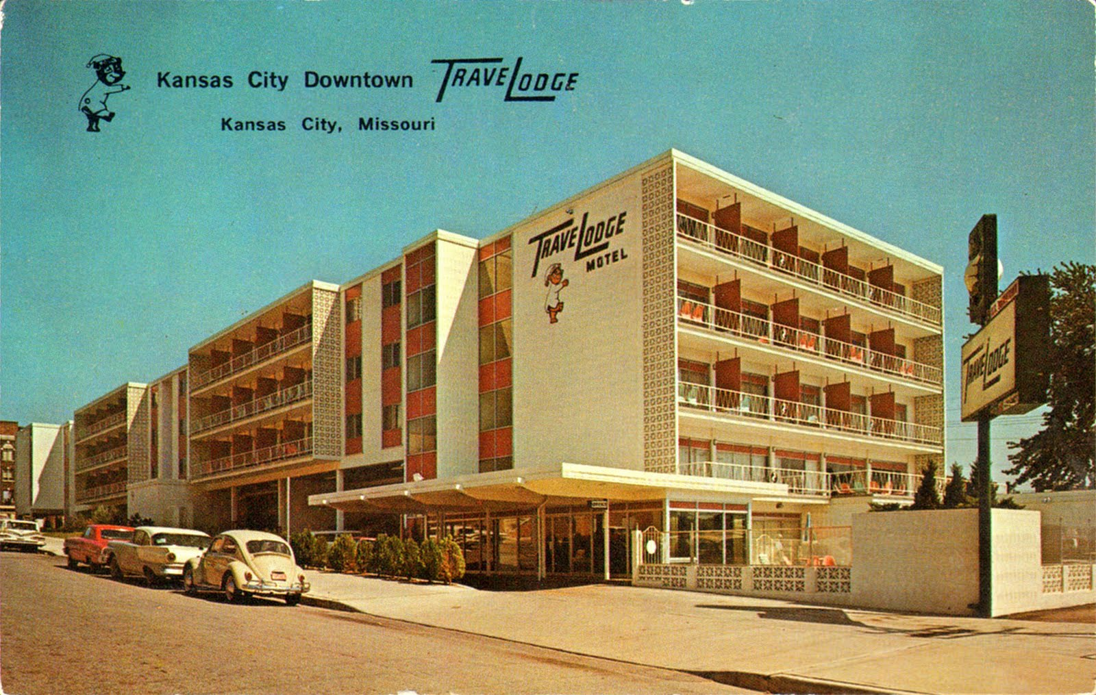 Mid century buildings vintage everyday for City hotel design