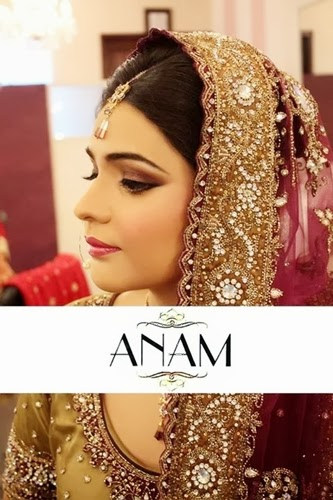 PakistaniBridalMakeupPictures2014 0011 wwwshe stylesblogspotcom - Bridal Makeup Pictures 2014 by Anam.