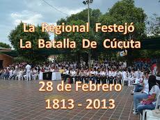 CELEBRACIÓN DE LA BATALLA DE CÚCUTA