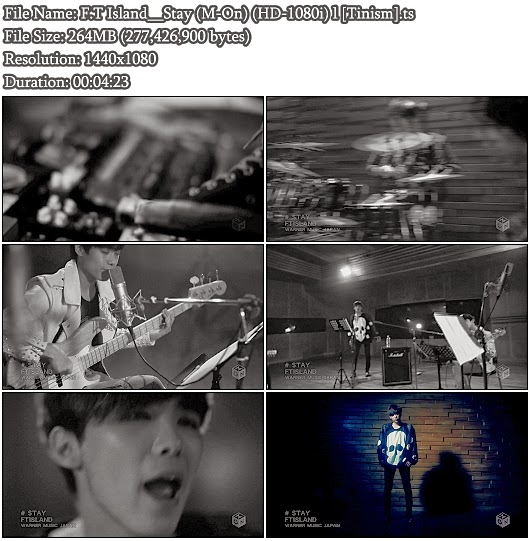 PV F.T Island - Stay (M-On Full HD 1080i)