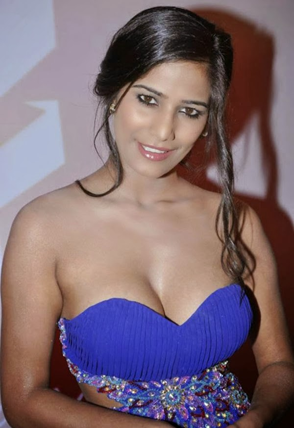 Poonam Pandey hot cleavage hd wallpaper