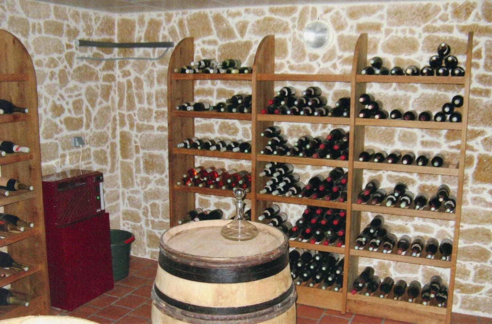 Am nagement de ma cave vin for Amenager une cave a vin