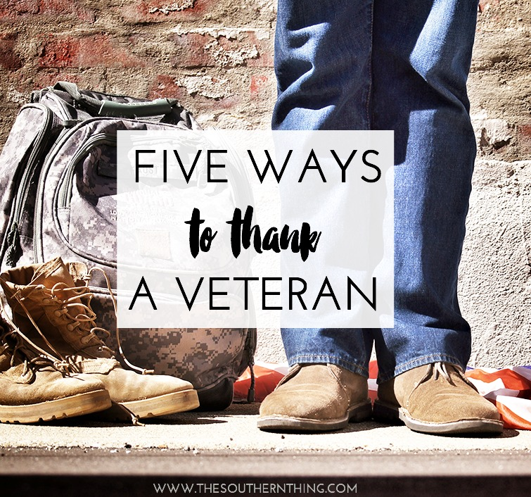 Ways to Thank a Veteran
