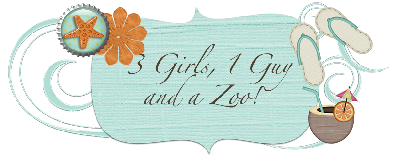 3 Girls, 1 Guy and a Zoo!