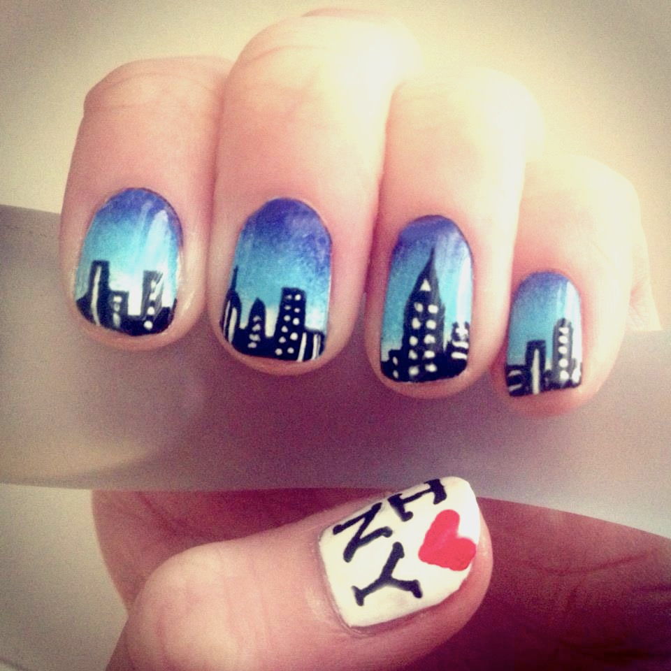 New york nail art nails by mellissa new york nail art prinsesfo Images