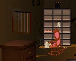 Juegos de Escape Halloween Black House Escape