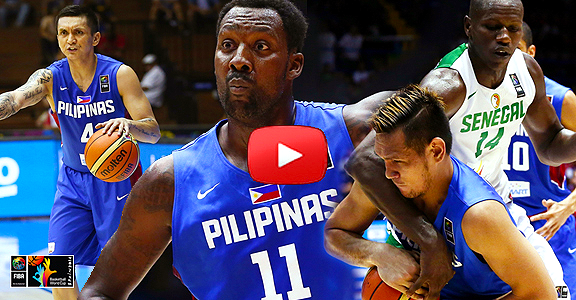 Gilas Pilipinas vs. Senegal (COMPLETE REPLAY VIDEO) FIBA World Cup 2014