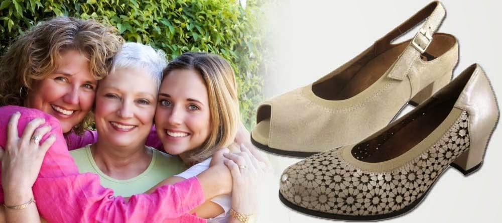 Zapatos Ortopédicos para Mujer