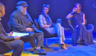 entrevista george rr martin, lena headey y michelle fairley - Juego de Tronos en los siete reinos